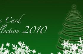 クリスマスカードコレクション 2010